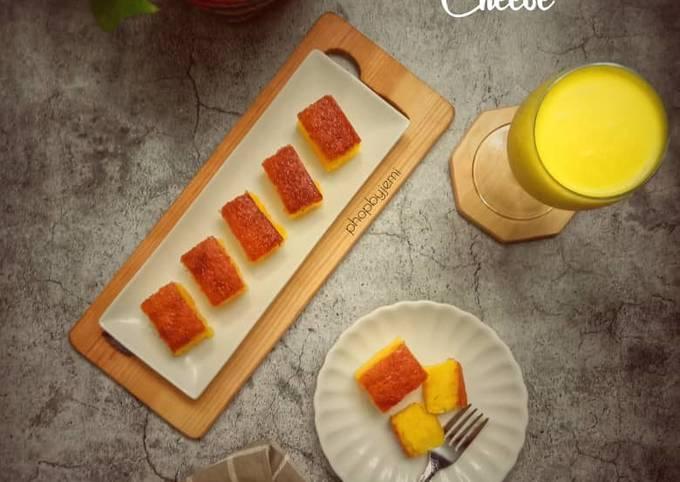 Bingka Ubi Kayu Cheese