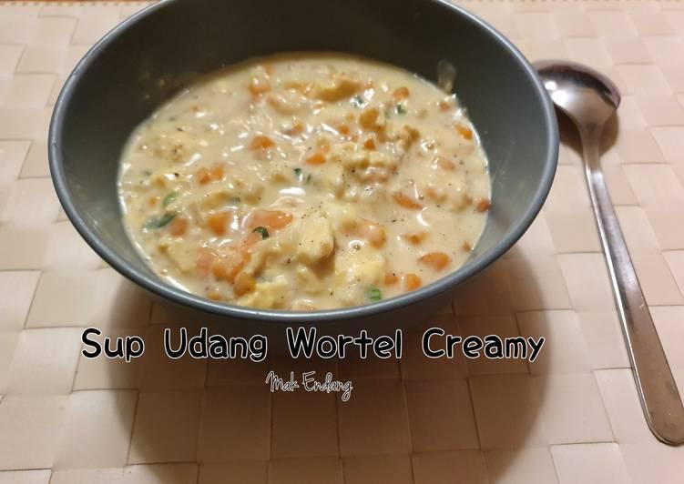 Sup Udang Wortel Creamy