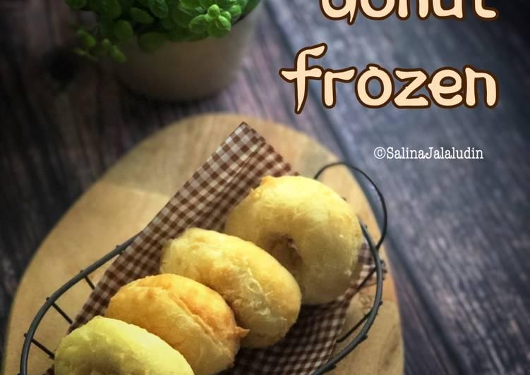 Resepi:  Donut Frozen  Sempena PKP