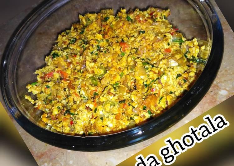 How to Make Homemade Anda ghotala