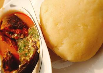How to Make Delicious Okro and stew with garri