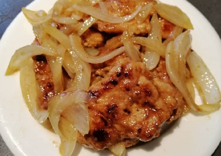 Recipe: Delicious Onion Porkchop