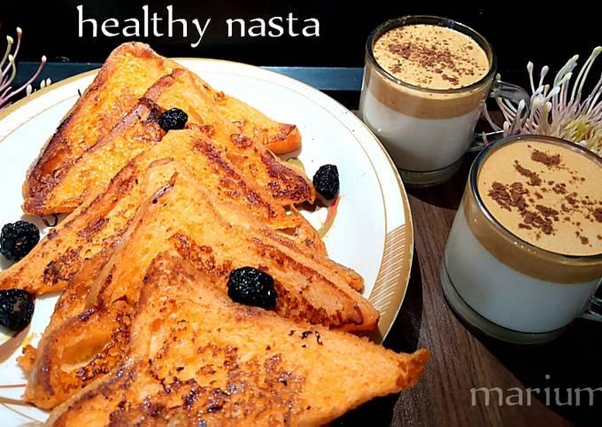French toast with dalgano coffee