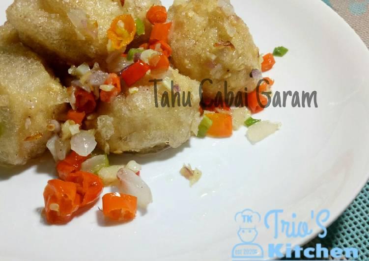 Tahu Cabai Garam (Salt and chilli Tofu)