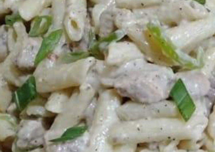 How to Prepare Favorite White sause pasta