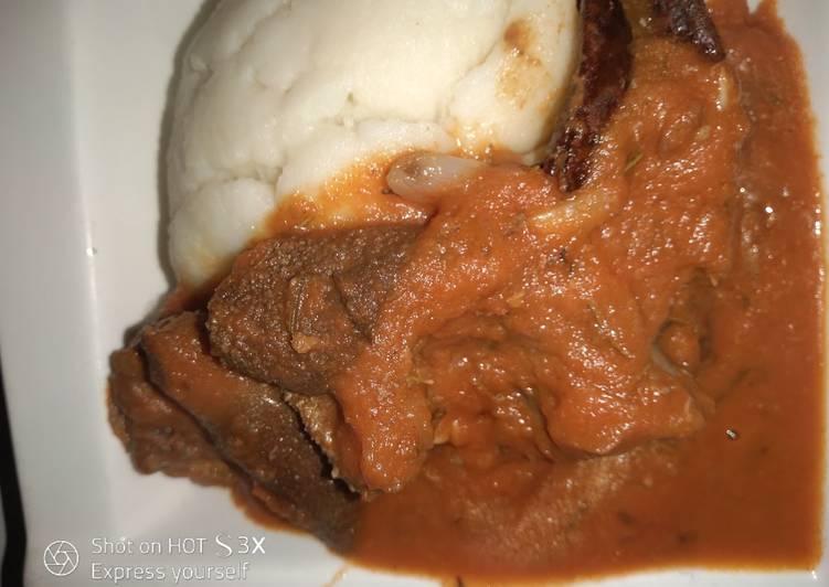 Recipe of Ultimate Ghanaian light soup #Abjmoms #MyHubFav
