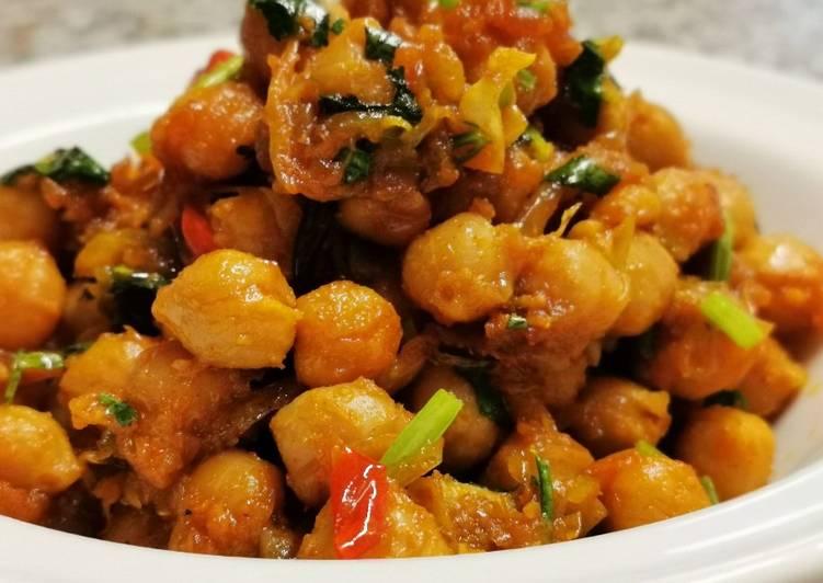 Recipe of Award-winning Chick peas bazi