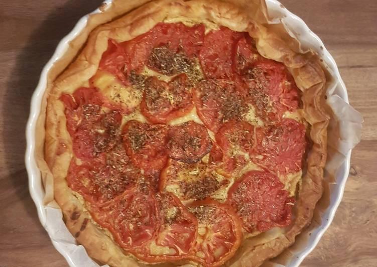 Tarte tomate façon belle maman