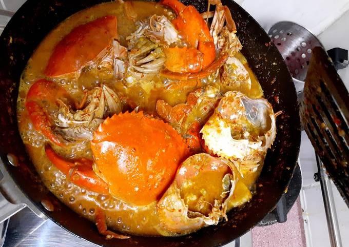 Langkah Mudah Menyiapkan Kepiting saus padang Anti Gagal