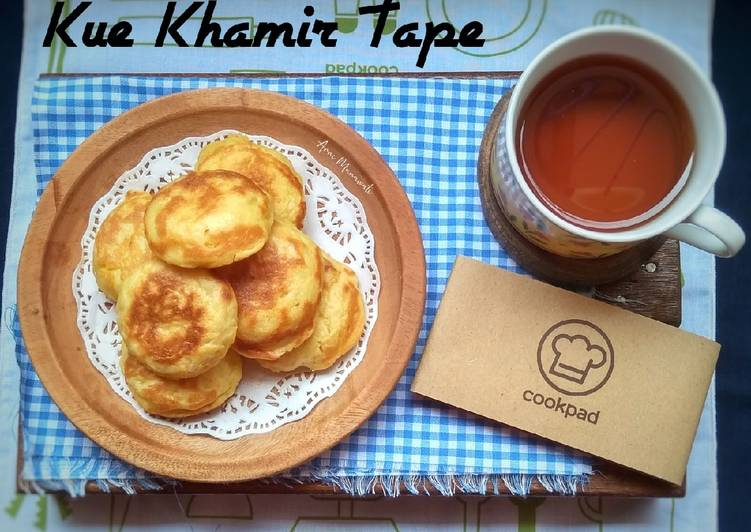 Kue Khamir Tape - cookandrecipe.com