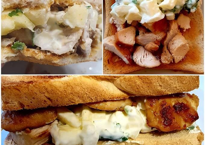 wie man Um Perfekte Hähnchen-Joghurt Sandwich zu machen