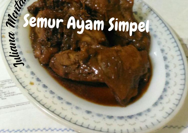 Semur Ayam Simple // #Mudik Online 😥