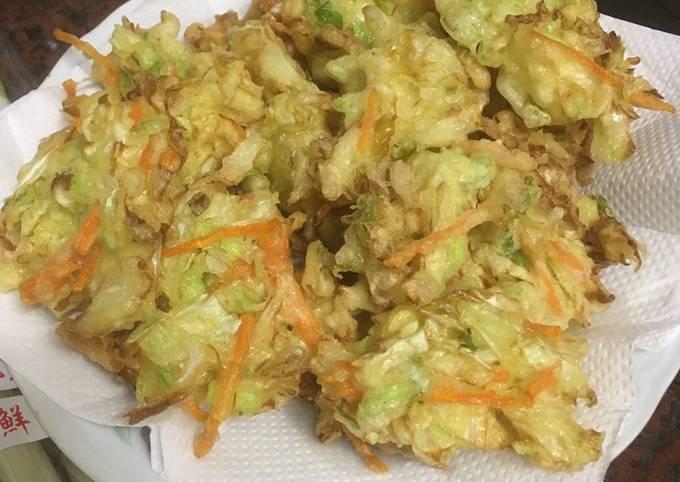 Resep Bakwan Sayur (ote ote) Anti Gagal