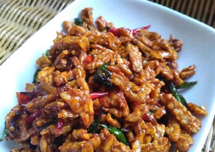 Resep Masakan Kering Tempe Manis Pedas Sederhana