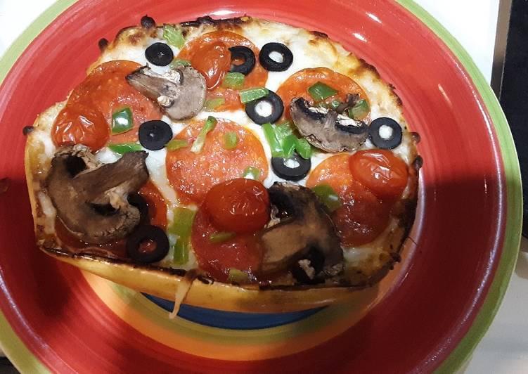 How to Cook Delicious Keto Spaghetti squash pizza