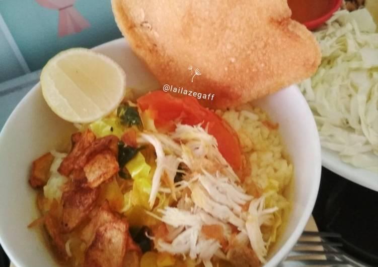 Soto Ayam Lamongan ala Tiara Kitchen