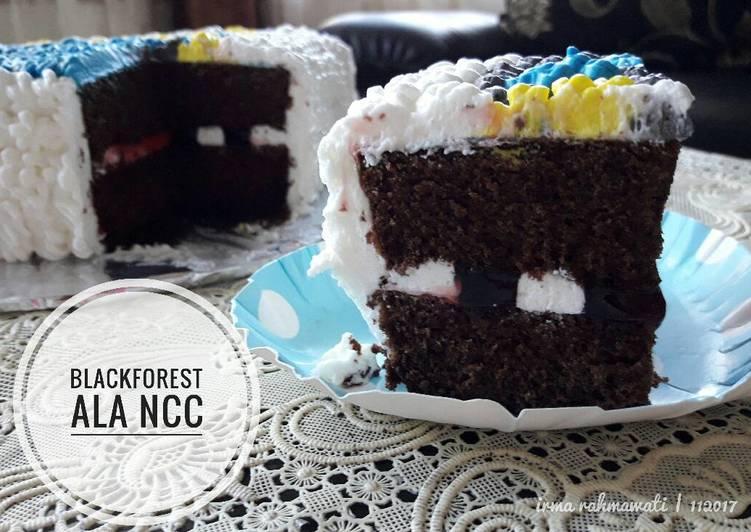Blackforest NCC – Resep membuatnya