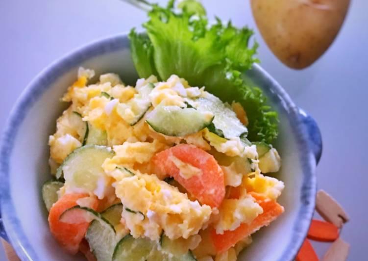 Potato salad ala jepang