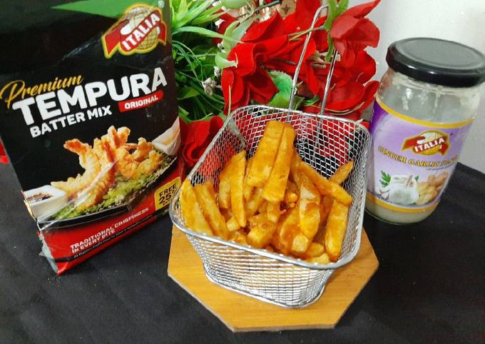 Domino's style French fries