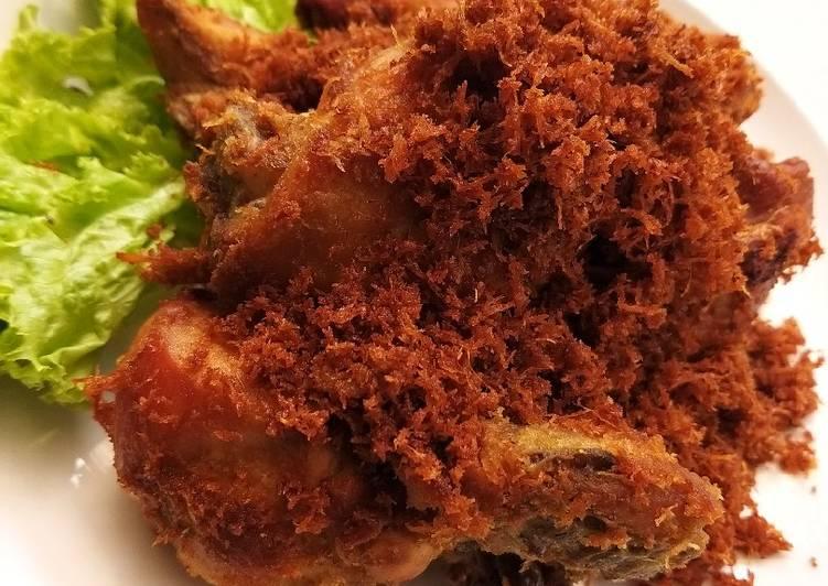 12 Resep: Ayam Goreng Serundeng Kekinian