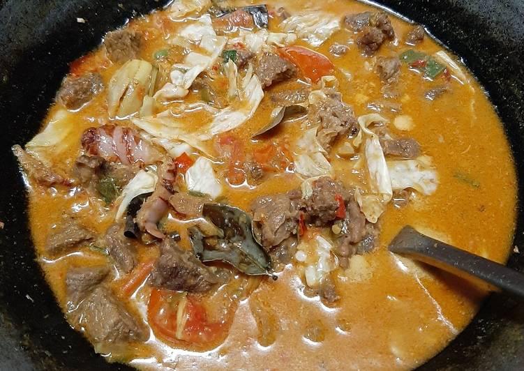 Tongseng Sapi Pedas Manis - cookandrecipe.com