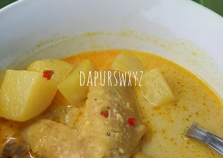 Kari Ayam / Chicken Curry Simple, Mudah dan Enak