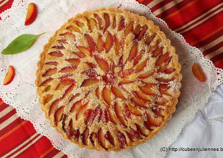 Easiest Way to Prepare Quick Frangipane plum flan