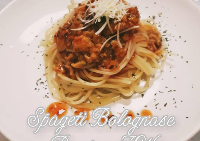 Spageti bolognese(daging kw)