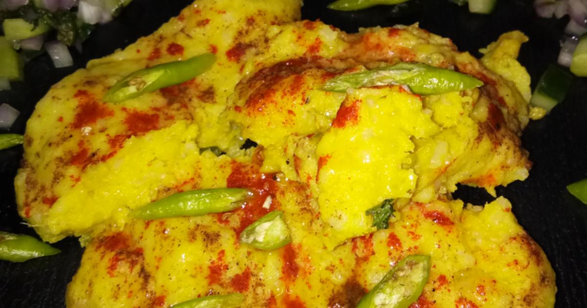 Surti Locho Recipe Gujarati Street Food Recipe