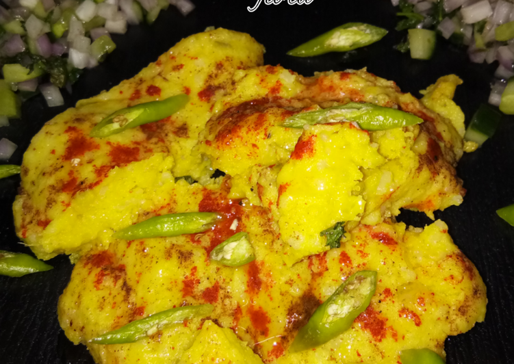 Surti Locho Recipe Gujarati Street Food Recipe Recipe By