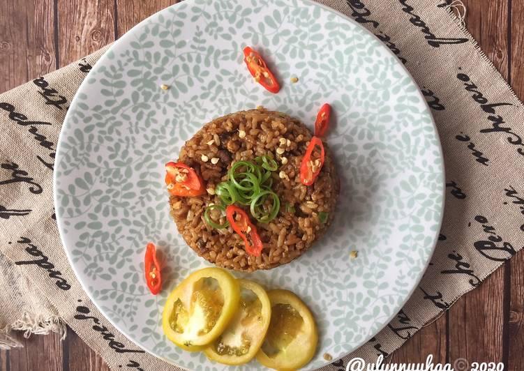 Nasi Goreng Daging Cincang!