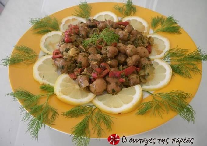 Spicy pan-roasted mushrooms