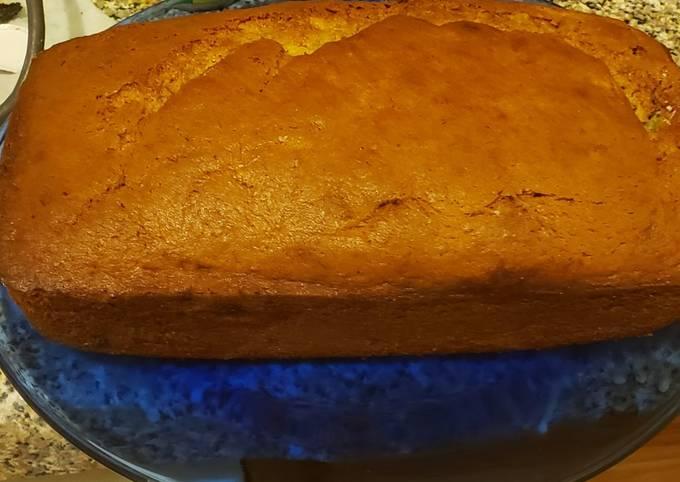 Recipe: Tasty Sour cream banana bread