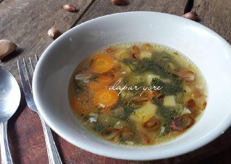 Resep Sop sayur great taste Yang Mudah Enak