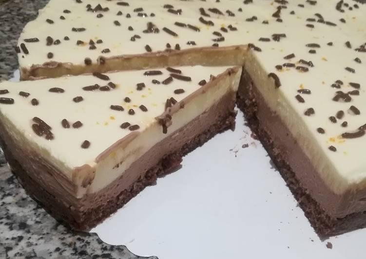 Ricetta Cheesecake Nutella e arancia 🍊