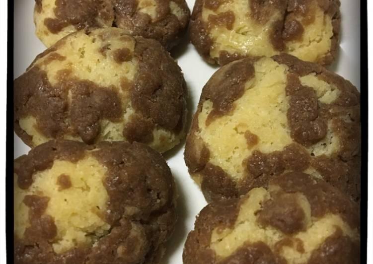 2 しょくクッキー (cookies 2 warna)