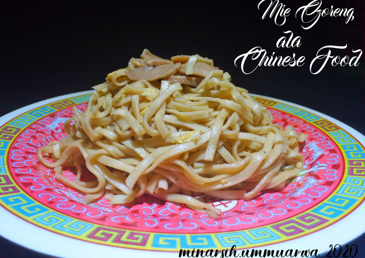 Mie Goreng ala Chinese Food #156⁶