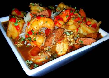 How to Recipe Yummy Mikes New Orleans Old School Seafood Gumbo