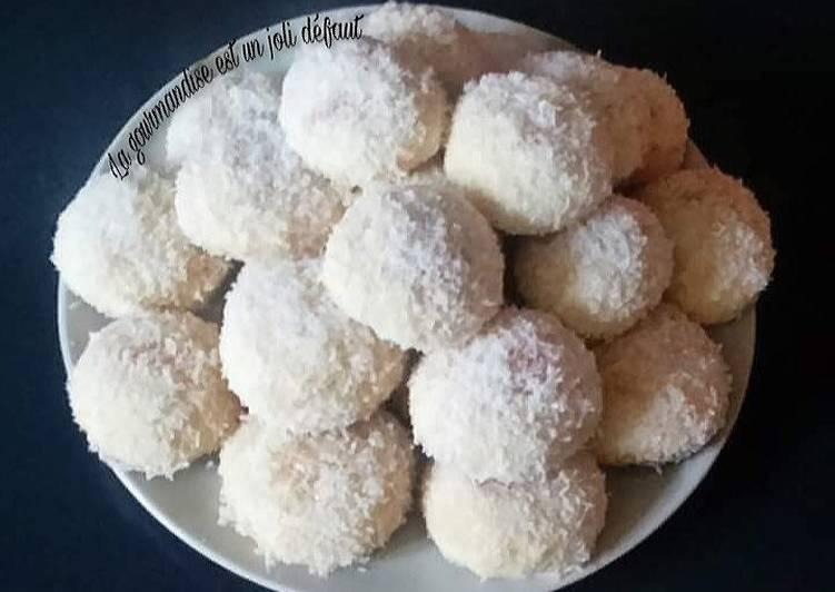 Recipe of Favorite Boules coco 🥥