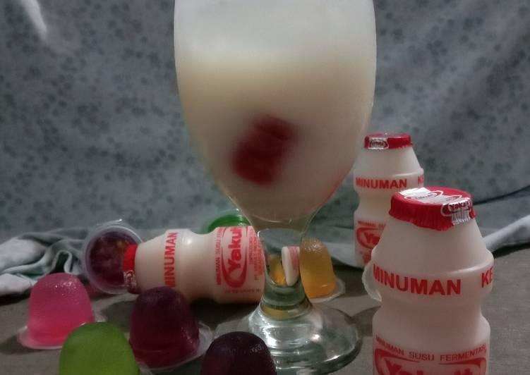 yakult sprite foto resep utama - 5 Ide Bisnis Minuman Kekinian untuk Raup Keuntungan