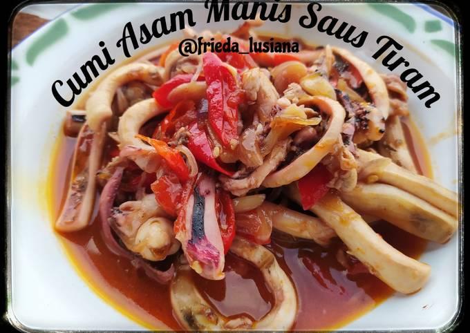 Cumi Asam Manis Saus Tiram - projectfootsteps.org