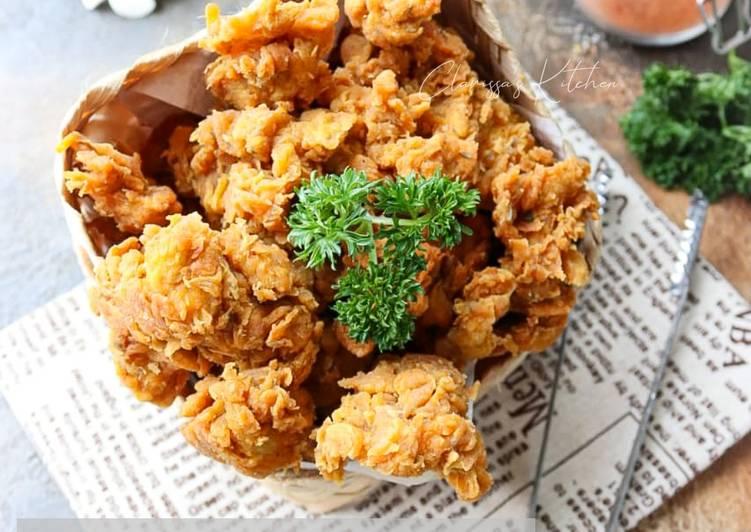 Ayam Kriting Bumbu Shawarma