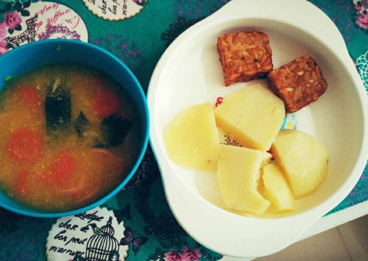 Sup jagung sosis (untuk anak diatas 1 tahun)