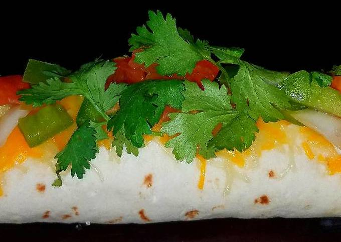 Mike's Seafood Enchiladas