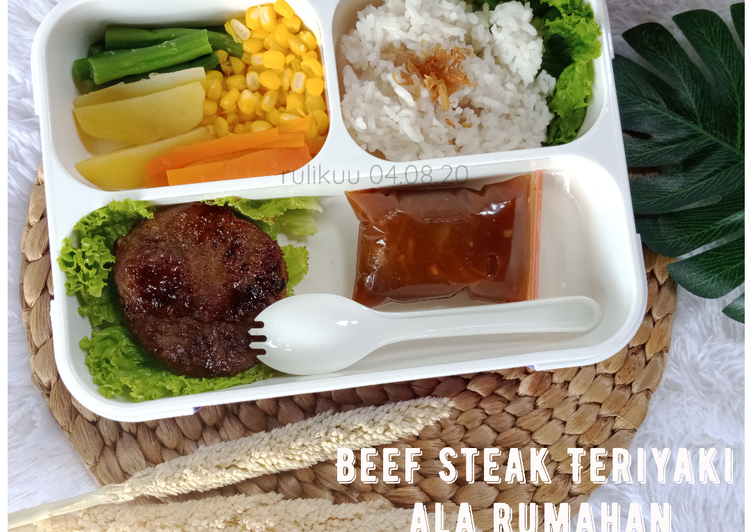 Beef steak teriyaki ala rumahan