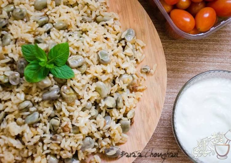 Easiest Way to Prepare Favorite Fava_beans_with_rice