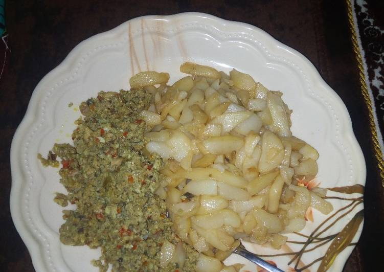 Recipe of Top-Rated Chips with sardine & egg source