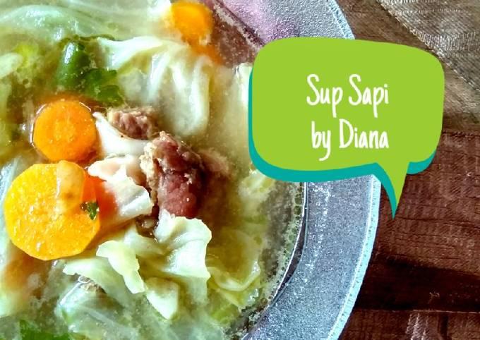 Sop Sapi Homemade by Diana