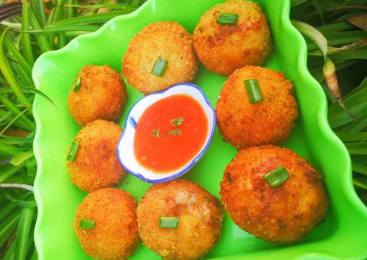 Potato and vegetable kababs