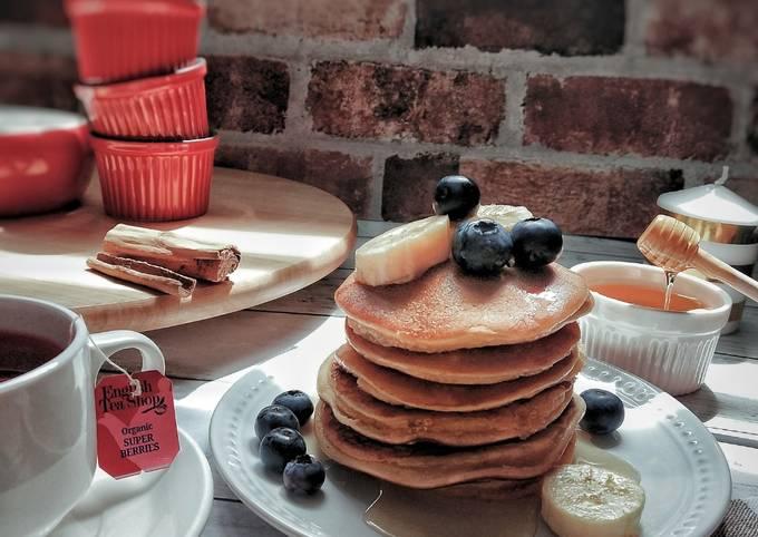 Almond flour banana pancakes #phopbylinimohd